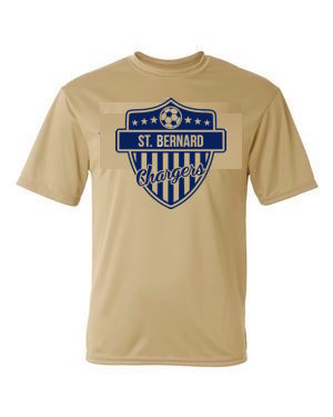 Chargers Performance Short Sleeve Soccer Shirt