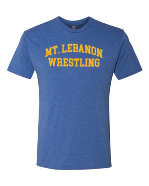 Royal Lebo Old School Wrestling Premium Tee (Gold Print)