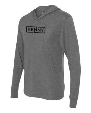Renaissance Hooded Tee (Grey Heather)