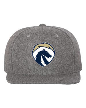 Chargers Grey Wool Snapback Hat