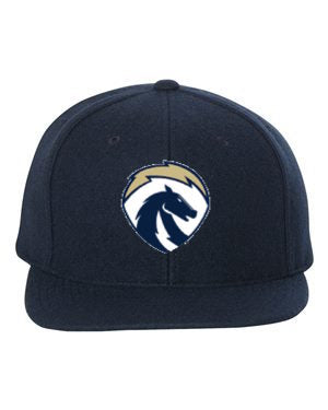 Chargers Navy Wool Snapback Hat