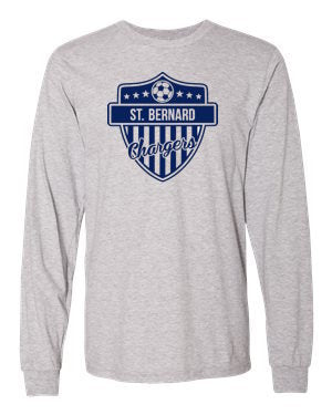 Chargers Long Sleeve Soccer Tee Shirt