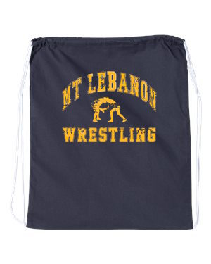 Lebo Wrestling Drawstring/Shoe Bag