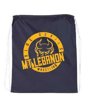 Lebo Blue Devils Wrestling Drawstring/Shoe Bag