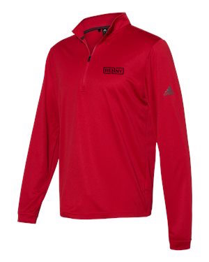 Adidas Renaissance Quarter Zip (Red)