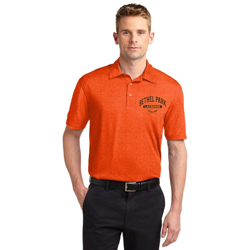 Bethel Park Lax Performance Polo (Heather Orange)