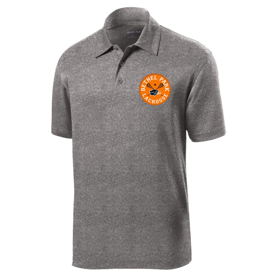 Bethel Park Lax Performance Polo (Heather Grey)