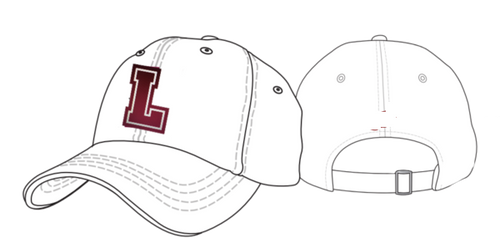 LSA football Buckle Back Hat