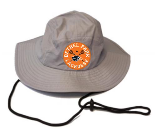 Bethel Park Lax Grey Performance Bucket Hat