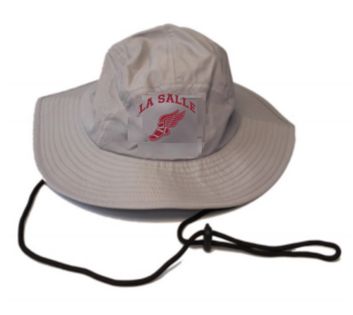 LSA Track & Field Grey Performance Bucket Hat