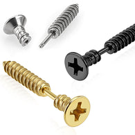 Philips Countersunk Plus Screw Ear Cartilage Helix Cuff Barbells