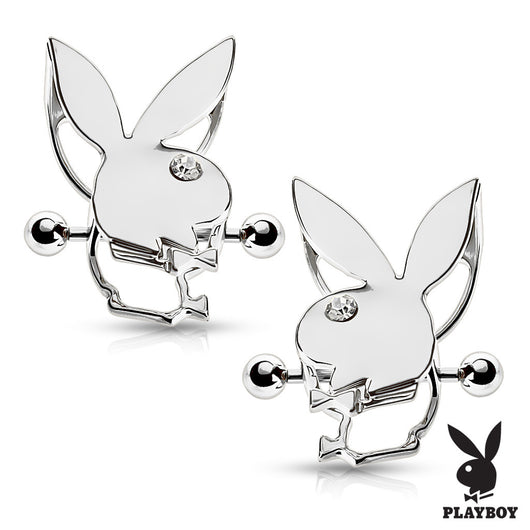 Pair of Pair of Playboy Bunny Double Tier Nipple Shields