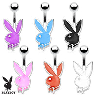 Officially Licensed Playboy Bunny 16G Petite Navel Belly Button Ring