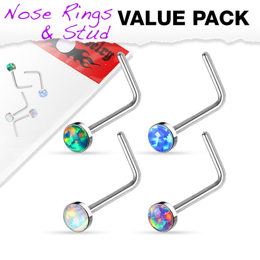 Value Pack 4 pcs Synthetic Opal Set