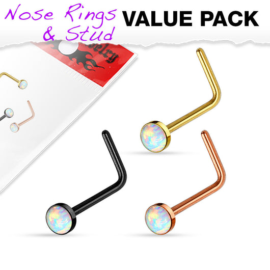 Value Pack 3 pcs Synthetic Opal