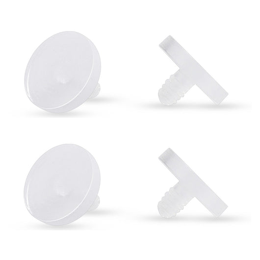 Acrylic Dermal Anchor Piercing Retainers Pack
