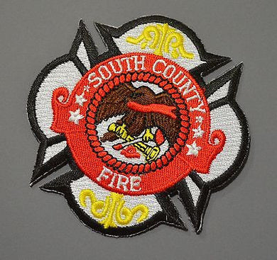 South County Fire Authority Patch ++ Defunct San Mateo County CA