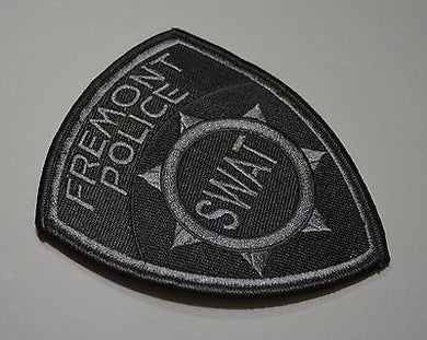 Fremont California Police SWAT Subdued Patch ++ Mint Alameda County CA