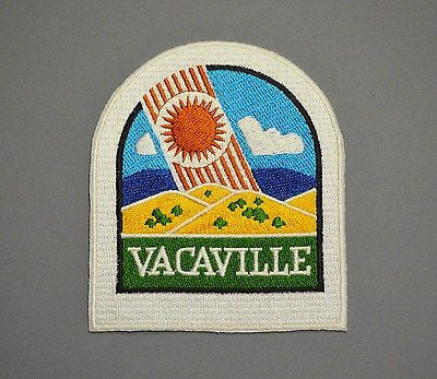Vacaville California Police Patch ++ o/s #3 Mint Solano County CA