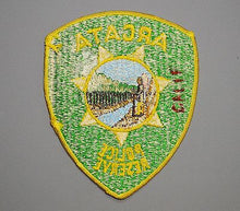 Arcata California Police Reserve Patch - Humboldt County CA