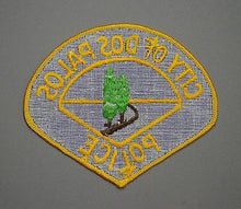 Dos Palos California Police Patch ++ 1st Issue Mint Merced County CA