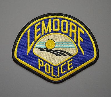 Lemoore California Police Patch ++ Mint Kings County CA
