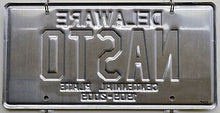 Rare Delaware Centennial 1909-2009 Commemorative License Plate