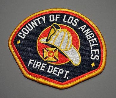 Los Angeles County Fire California Firefighter Patch ++ Mint LACO FD CA
