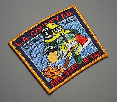 Los Angeles County FD Fire Station 149 Castaic Lake Patch ++ Mint LACO CA