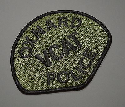 Oxnard California Police VCAT Subdued Patch ++ Mint Ventura County CA