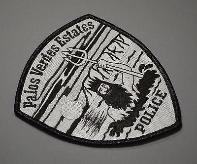 Palos Verdes Estates California Police SWAT Subdued Patch ++ Mint CA HTF
