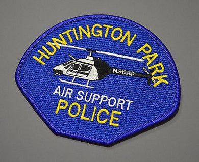 Huntington Park California Police Air Support Patch ++ Los Angeles County CA