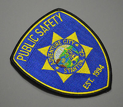 Adventure City California Public Safety Patch ++ Mint Stanton OC CA