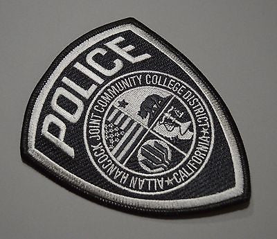 Allan Hancock College California Police Patch ++ San Luis Obispo County CA