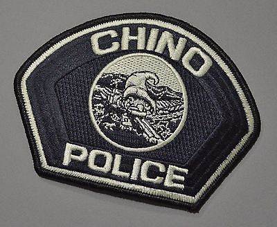 Chino California Police Patch ++ Mint San Bernardino County CA