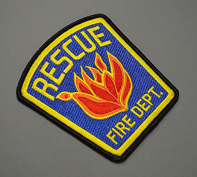 Rescue California Fire Department Patch ++ Mint El Dorado County CA