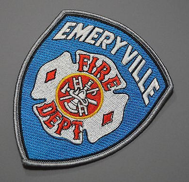 Emeryville California Fire Department Patch ++ Alameda County CA
