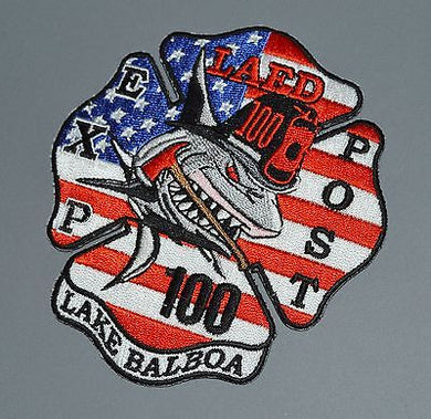 Los Angeles Fire Explorer Post 100 Lake Balboa Patch ++ LAFD CA