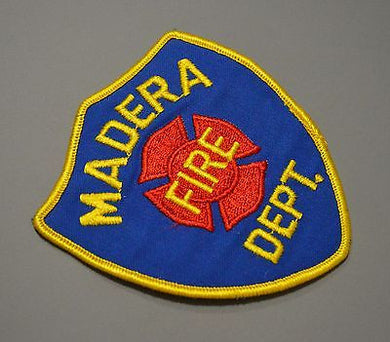 Madera California Fire Dept. Patch ++ Mint Madera County CA