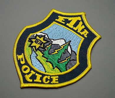 Etna California Police Patch ++ Mint Siskiyou County CA