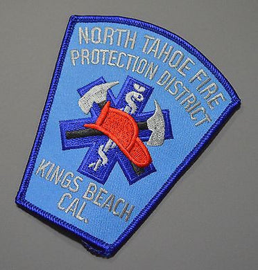 North Tahoe Kings Beach California Fire Patch ++ Mint Placer County CA