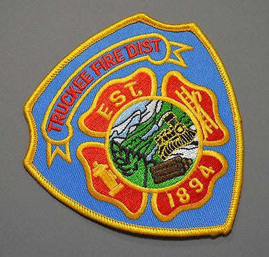 Truckee California Fire District Patch ++ Mint Nevada County CA