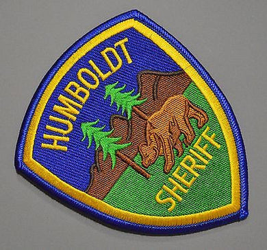 Humboldt County California Sheriff Patch ++ Mint CA