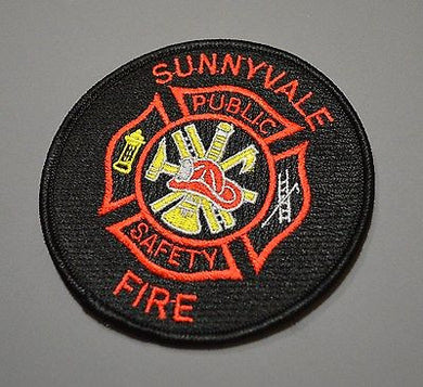 Sunnyvale California Fire Patch ++ Mint Santa Clara County CA HTF