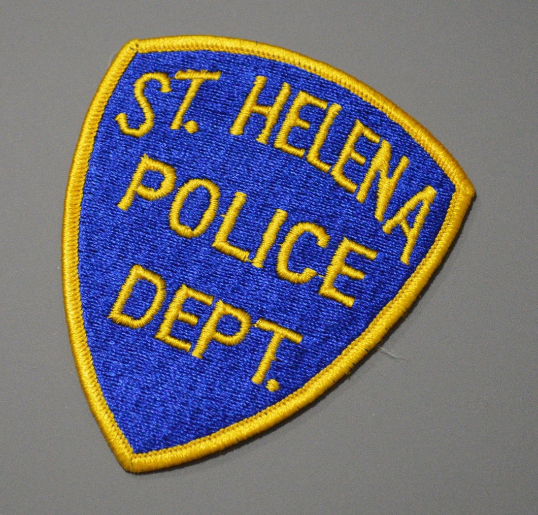 St. Helena California Police Patch ++ o/s Napa County CA