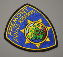 Fremont California Police Reserve Patch ++ Mint Alameda County CA
