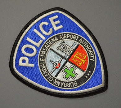 Burbank Glendale Pasadena California Airport Police Patch