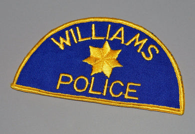 Williams California and Arizona o/s Police Patch
