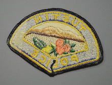Tustin California Police Patch ++ o/s Mint Orange County CA