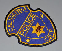 Calipatria California Police Patch ++ o/s Walking Bear Imperial County CA